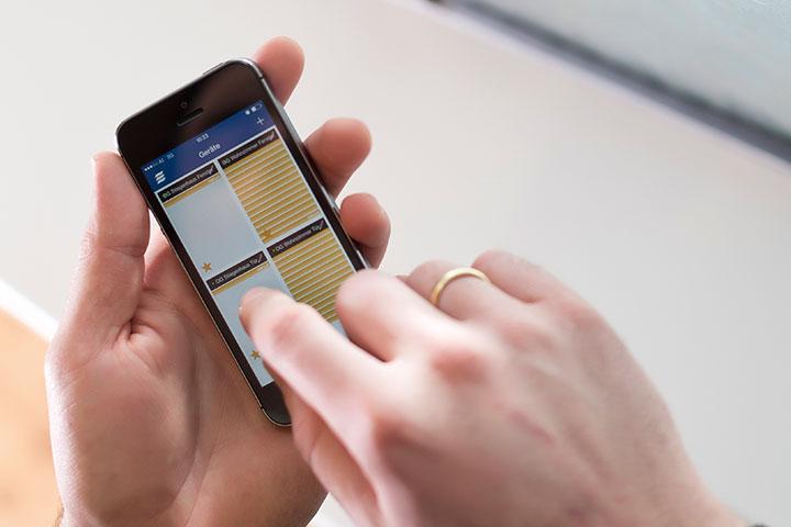 Raffstoren und Jalousien Bedienung iPhone