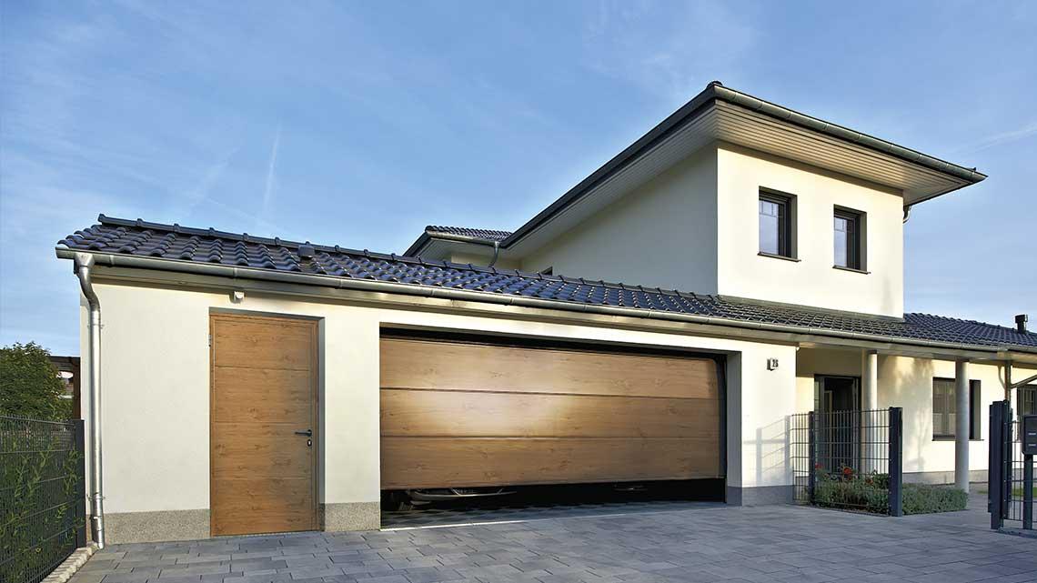 Hörmann Nebentür für Garage - Beispiel 1