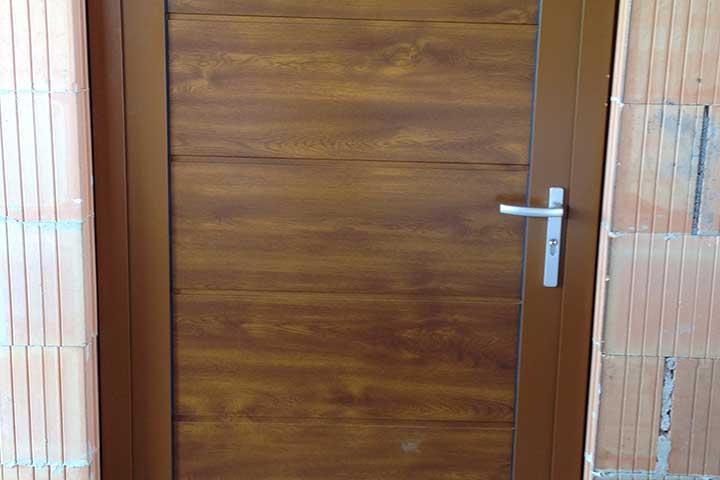 Nebentür für Garage aus Aluminium