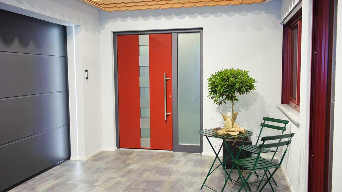 Haustüren, Tore, Sonnenschutz, Fenster - Ausstellung Inspiration 1