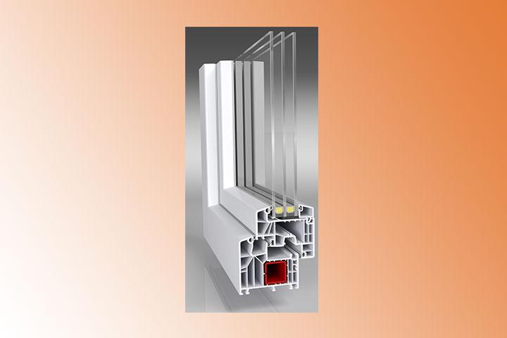 Kunststofffenster, Stahlverstärkung 2