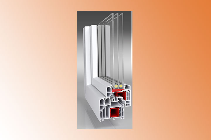 Kunststofffenster, Stahlverstärkung