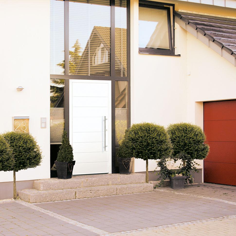 Haustüren mit durchdachter Technik