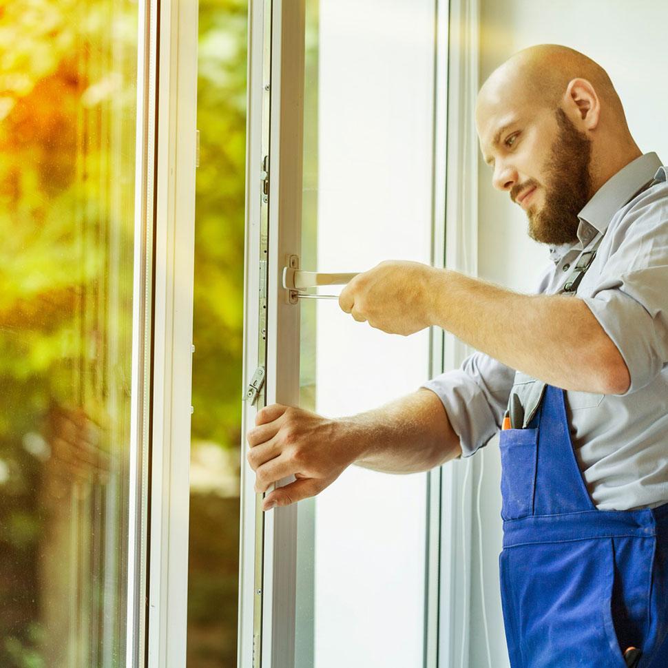 Fenster Service und Wartung