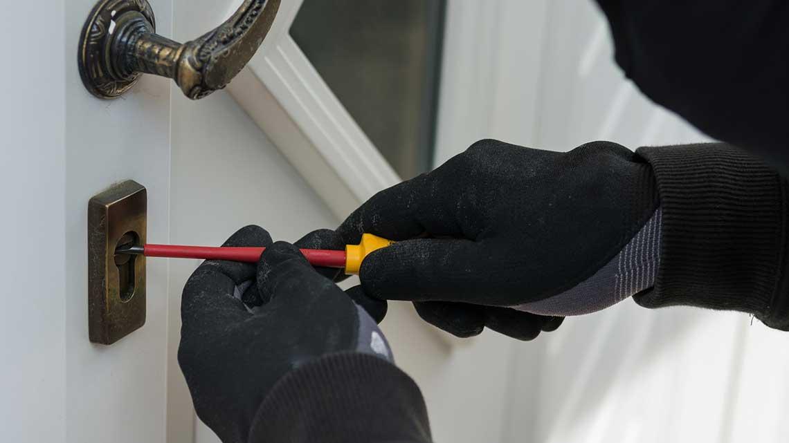 Haustüren Sicherheit, Einbruchschutz - Beispiel 2