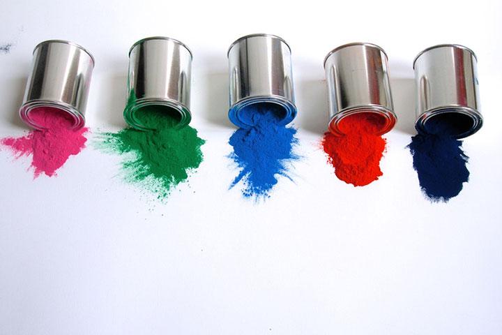 Kunststoff-Alu-Fenster, Pulverbeschichtung