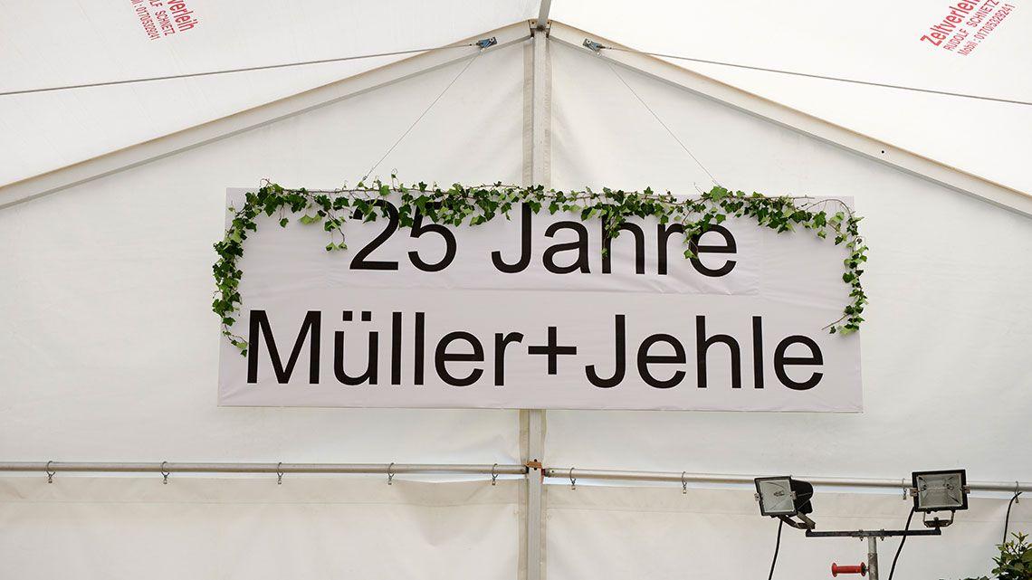 Jubiläumsangebote 25 Jahre müller+jehle - Wir sagen Danke